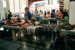 The fish market with scabbard fish on display © P Curtis 2002